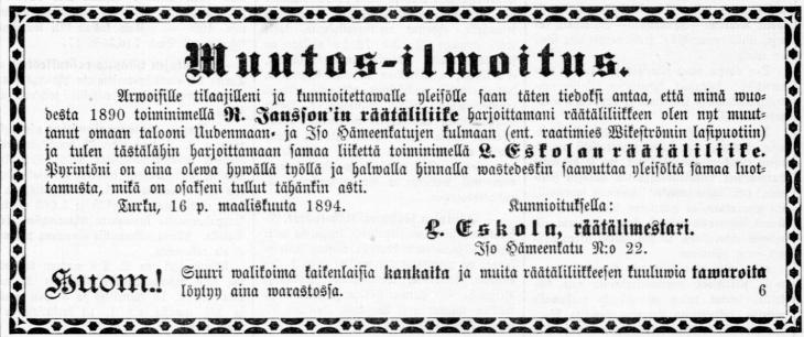 L.Eskola1894