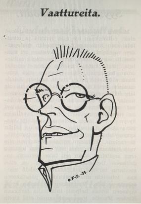 Karikatyyri vuodelta 1933 [3]
